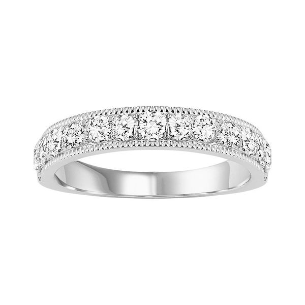 White Gold .50 Carat Diamond Overture Band Your Jewelry Box Altoona, PA