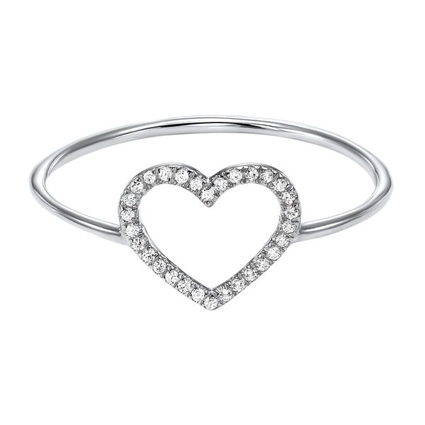 Dainty Delicacies Diamond Heart Ring Your Jewelry Box Altoona, PA