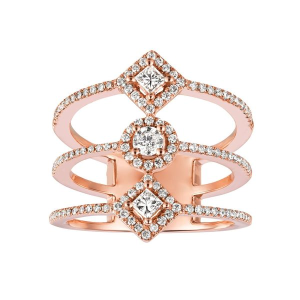Rose Gold Diamond Open Ring Your Jewelry Box Altoona, PA