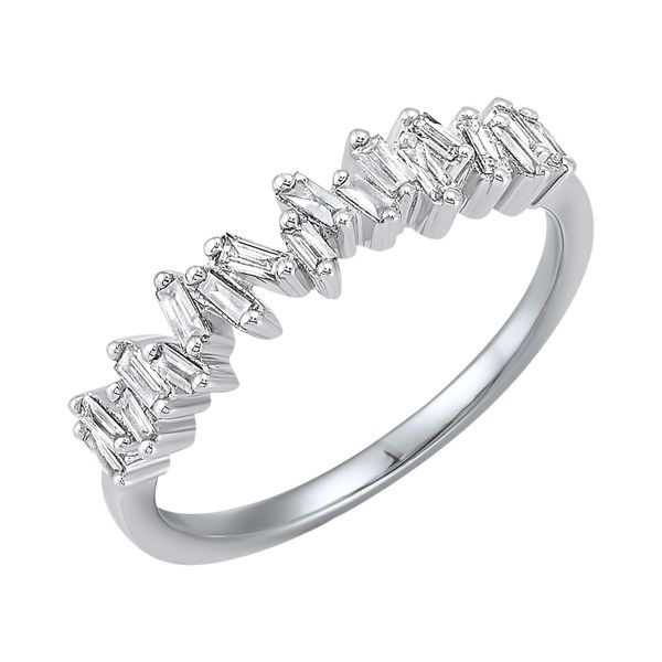White Gold Diamond Baguette Band Your Jewelry Box Altoona, PA