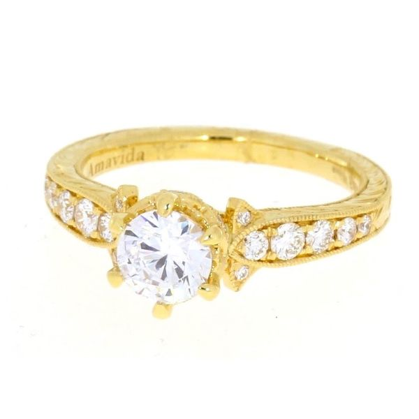 Amavida Diamond Engagement Ring Image 2 Your Jewelry Box Altoona, PA