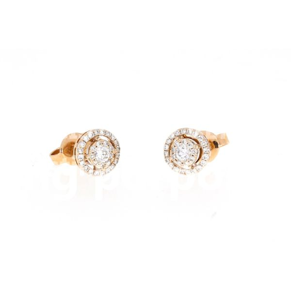 Riose Gold Diamond Earrings Image 2 Your Jewelry Box Altoona, PA