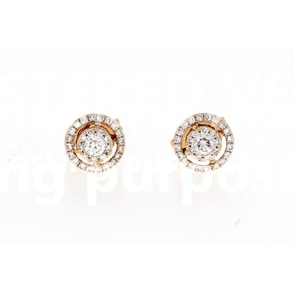 Riose Gold Diamond Earrings Your Jewelry Box Altoona, PA