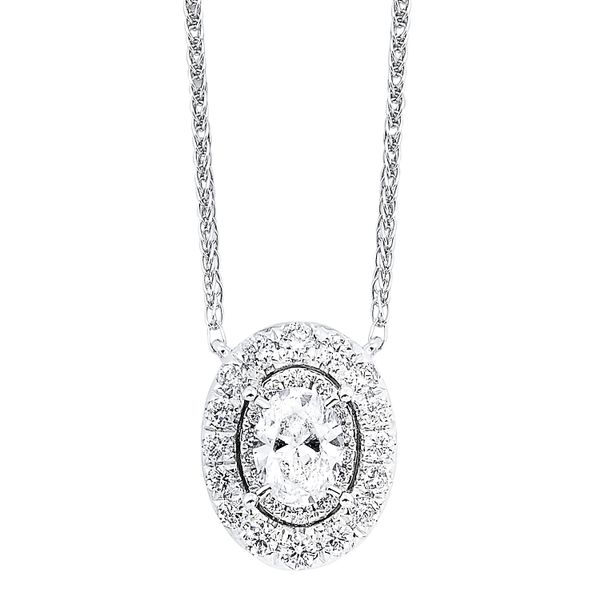 Tru Brilliance Oval Diamond Necklace Your Jewelry Box Altoona, PA