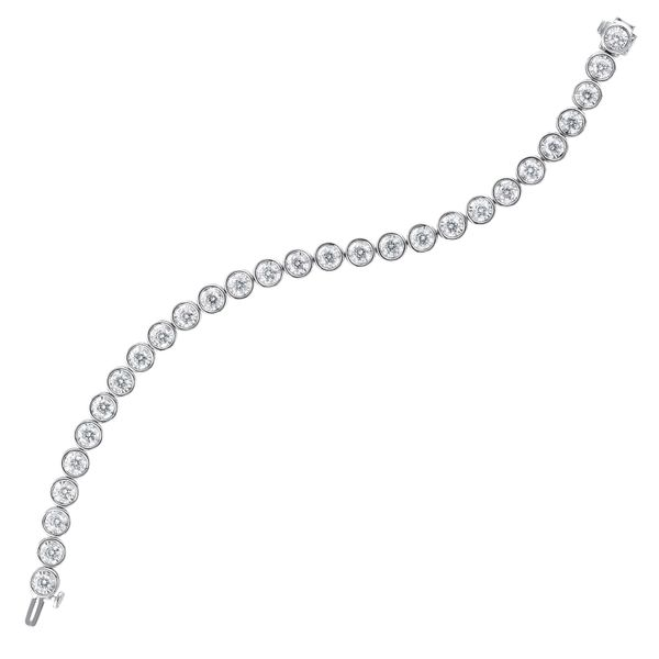 White Gold 1 Carat tw Diamond Tennis Bracelet Your Jewelry Box Altoona, PA