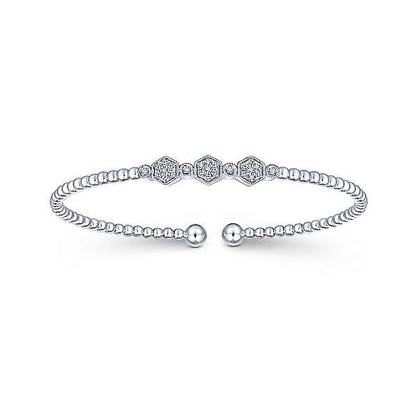 White Gold Flexi Diamond Bangle Bracelet Your Jewelry Box Altoona, PA