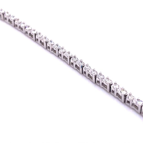 10 Karat White Gold Diamond Tennis Bracelet Your Jewelry Box Altoona, PA