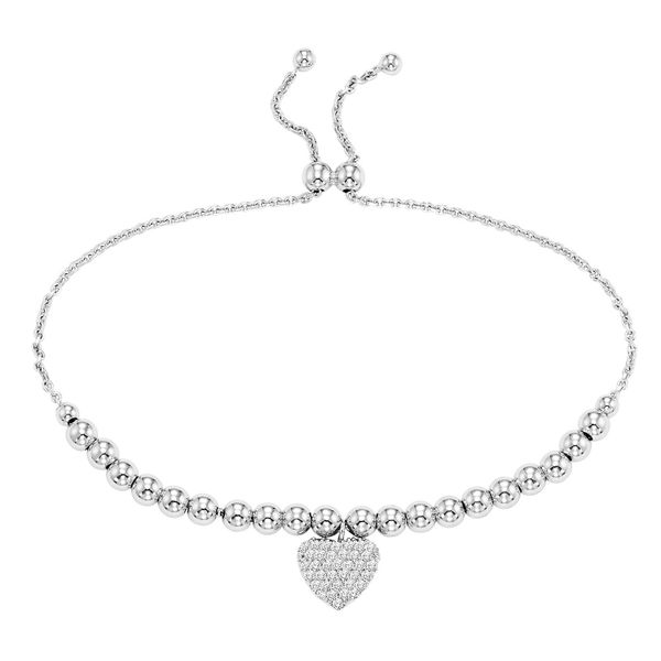 Sterling SIlver Adjustable Heart Bracelet Your Jewelry Box Altoona, PA