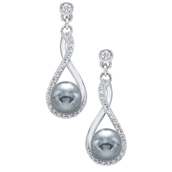 Silver Tahitian Pearl Earrings Your Jewelry Box Altoona, PA