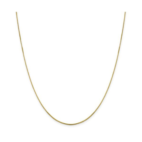 10K Yellow Gold .95 mm Octagonal Sparkle Box Chain Your Jewelry Box Altoona, PA