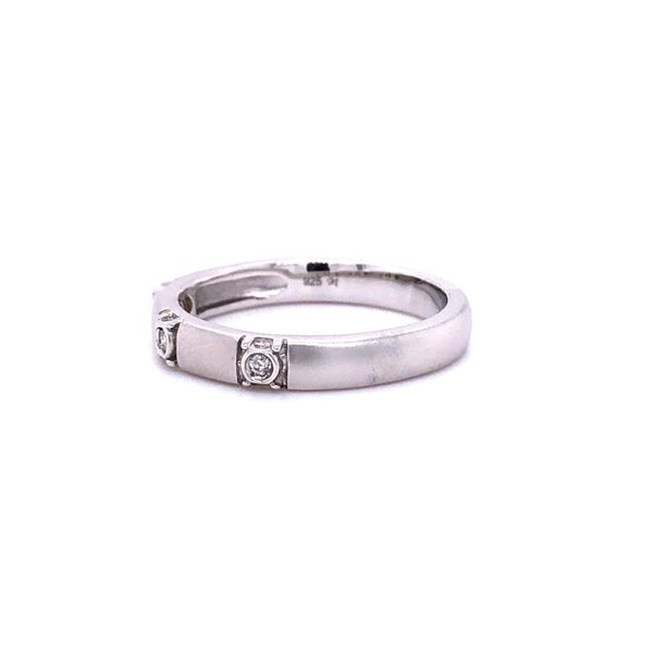 Diamond 3-Stone Stackable Ring Image 3 Your Jewelry Box Altoona, PA