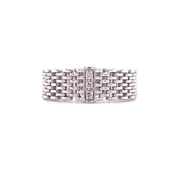 Sterling Silver Diamond Accent Woven Ring Your Jewelry Box Altoona, PA