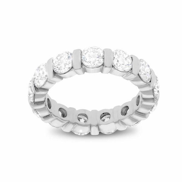 Round Channel Set Wedding Band Forever Diamonds New York, NY