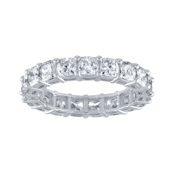 Cushion Cut Wedding Band Forever Diamonds New York, NY
