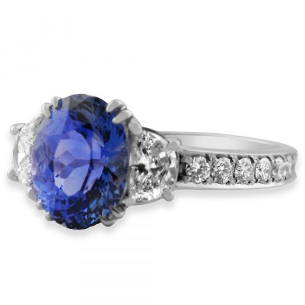 DER110-oval-blue-sapphire-half-moon-diamond-engagement-ring
