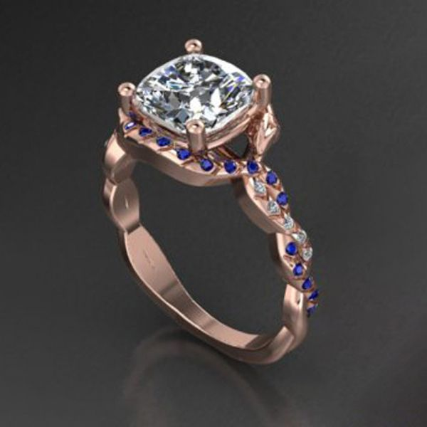 DER111-rose-gold-snake-ring-sapphires-elvish-engraved4
