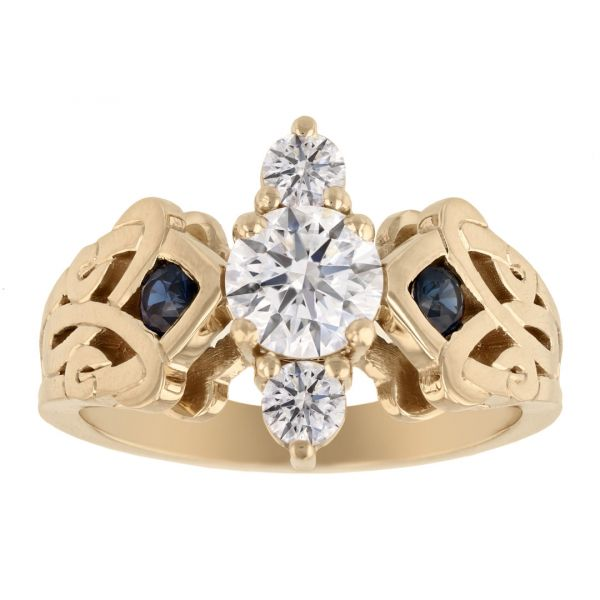 DER123-Diamond-and-Sapphire-Celtic-Ring