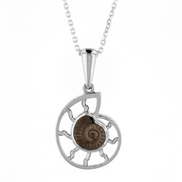 NK110-Ammonite-fossil-pendant-in-white-gold
