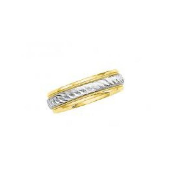 Two-Tone Designer Band Stephen Gallant Jewelers Orleans, MA