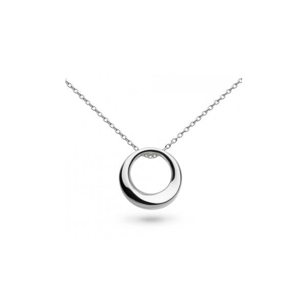Medium Open Circle Pendant Stephen Gallant Jewelers Orleans, MA