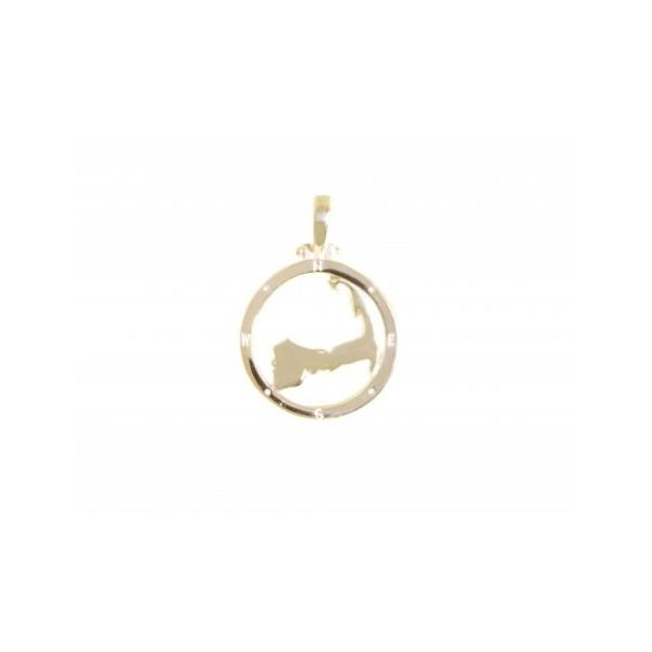 Cape Compass SM 14k GOLD Stephen Gallant Jewelers Orleans, MA