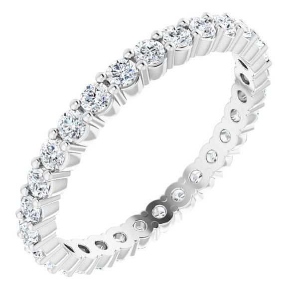 Eternity Band Toner Jewelers Overland Park, KS