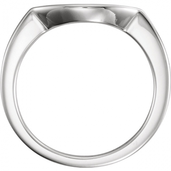 Three-Stone Engagement Ring Matching Band Image 2  ,