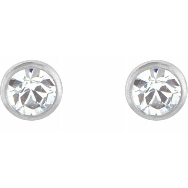 Crystal Inverness® Piercing Earrings  Image 2  ,