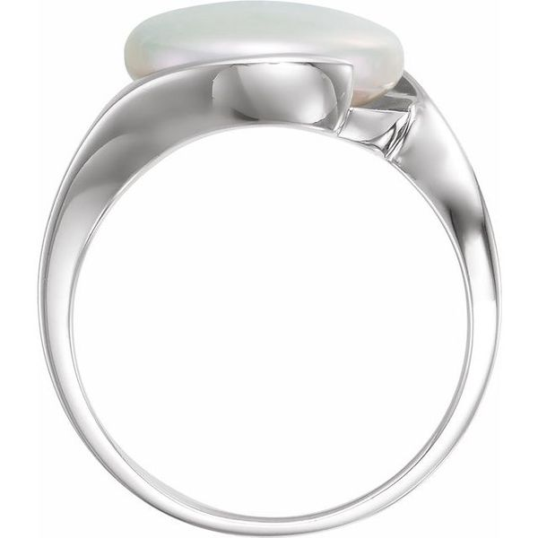 Solitaire Ring for Coin Pearl Image 2  ,