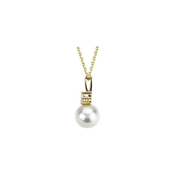 Accented Pearl Necklace   Image 2  ,