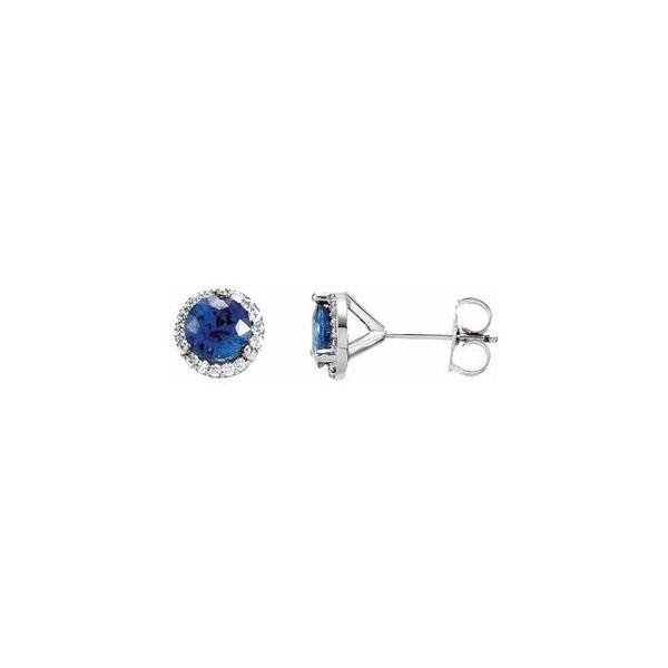 7fd531b39 Stuller Halo-Style Earrings 67731:101:P 14KW Iron Mountain ...