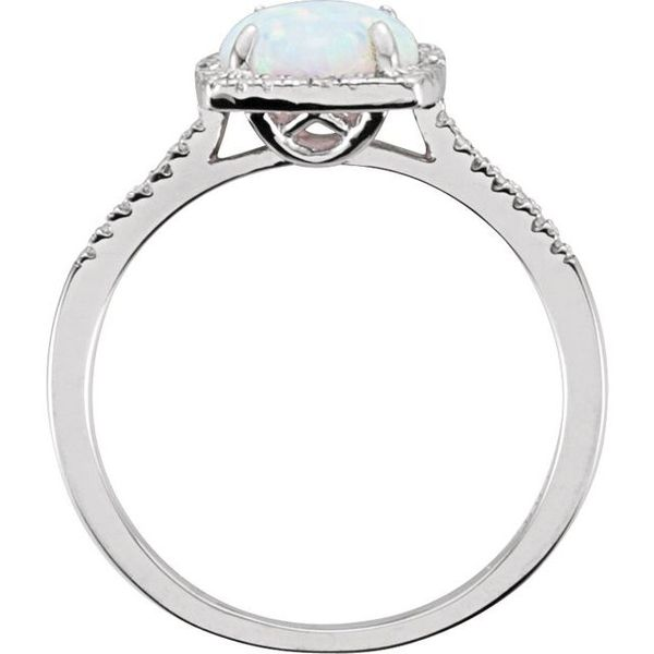 Halo-Style Ring  Image 2 Diamondneed Inc New York City, NY