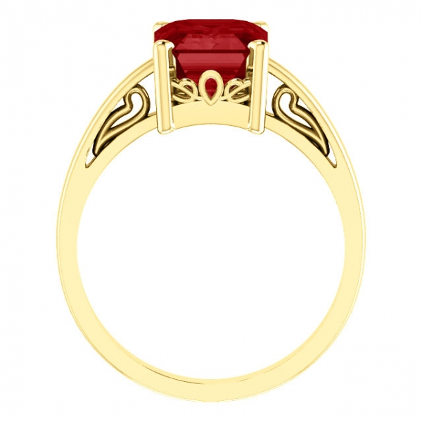 Scroll Setting® Ring Image 2 Diamondneed Inc New York City, NY