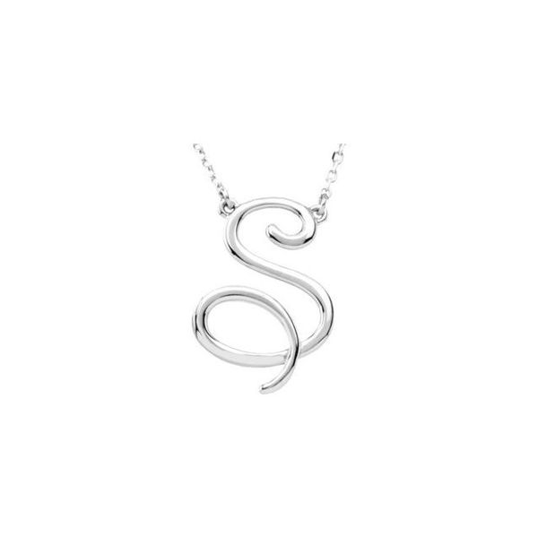Script Initial Necklace Jewellery Plus Summerside,