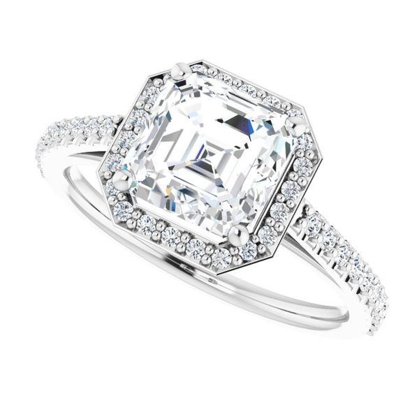 Ever & Ever Halo-Style Engagement Ring CONFIG.2464491