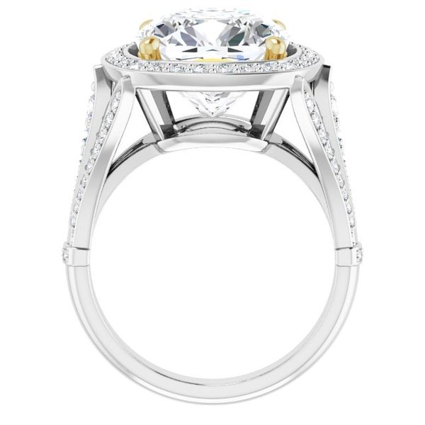 Halo-Style Engagement Ring Image 2 Swede's Jewelers East Windsor, CT