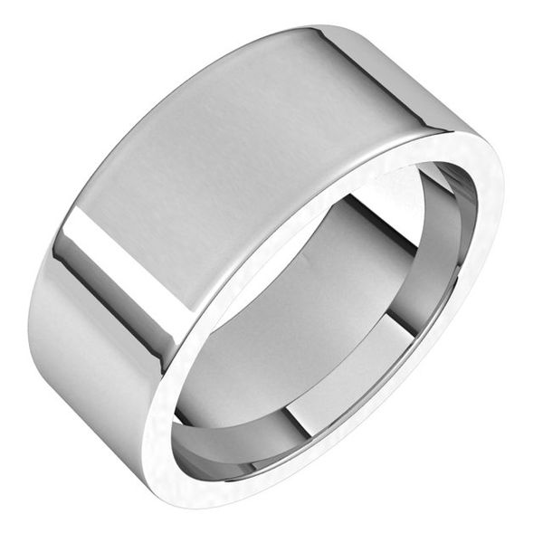 Flat Comfort-Fit Bands James Wolf Jewelers Mason, OH