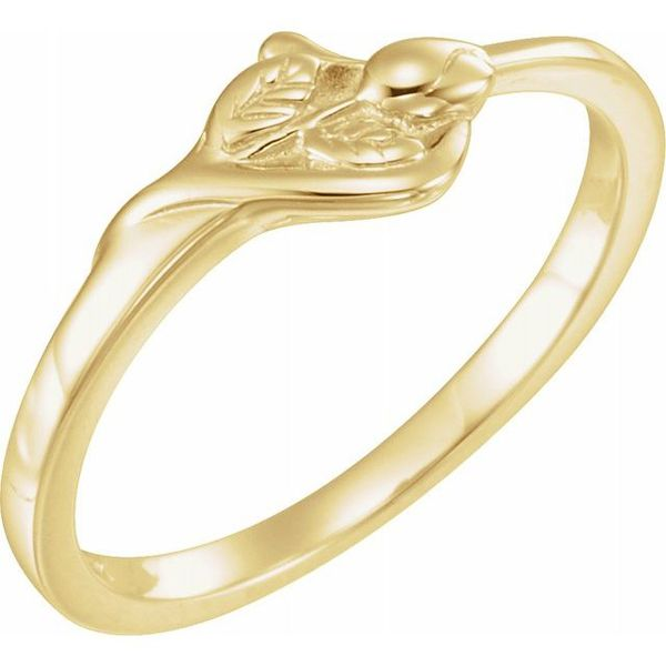 The Unblossomed Rose® Ring Diamondneed Inc New York City, NY