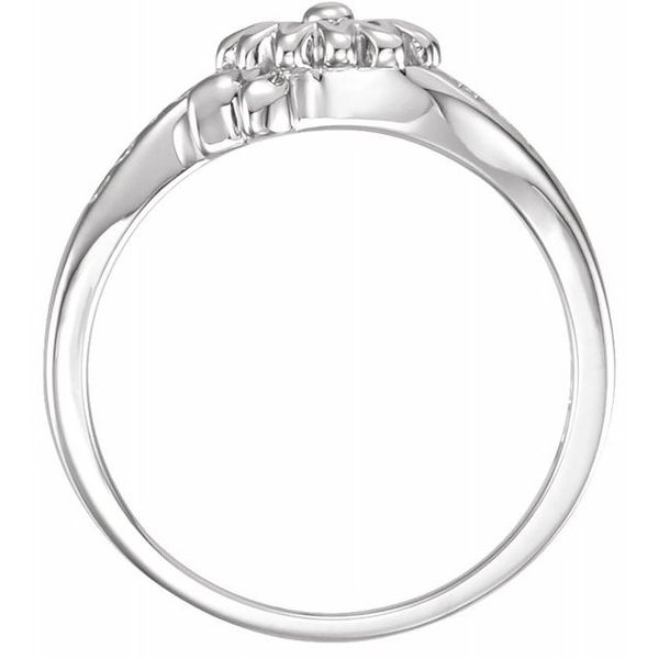 Love Waits Chastity Ring Image 2 Franzetti Jewelers Austin, TX