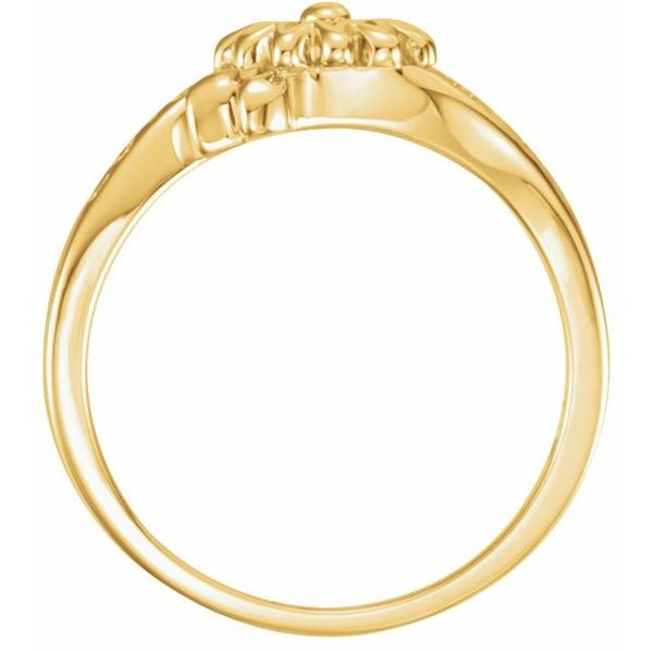 Love Waits Chastity Ring Image 2 James Wolf Jewelers Mason, OH