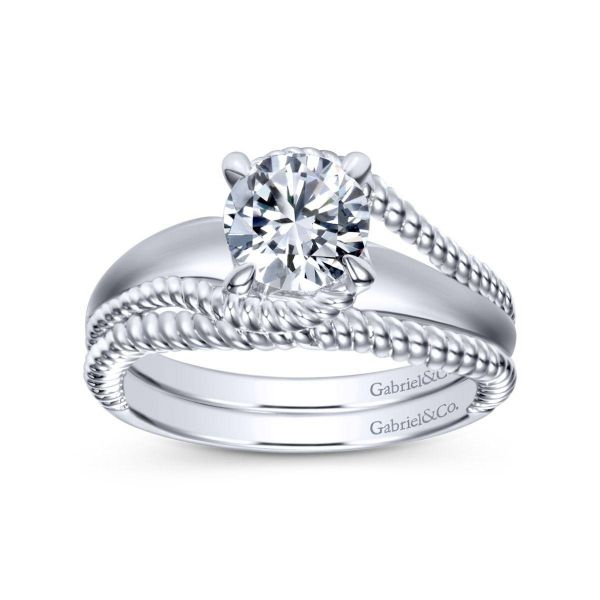 Gabriel & Co Engagement Ring (Mounting Only) Image 4 Graziella Fine Jewellery Oshawa, ON
