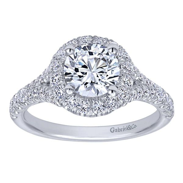 Gabriel & Co Engagement Ring (Mounting Only) Image 5 Graziella Fine Jewellery Oshawa, ON