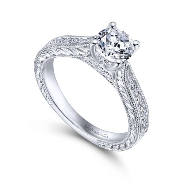 Gabriel & Co Engagement Ring (Mounting Only) Image 3 Graziella Fine Jewellery Oshawa, ON