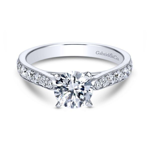 Gabriel & Co Engagement Ring (Mounting Only) Graziella Fine Jewellery Oshawa, ON