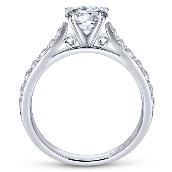 Gabriel & Co Engagement Ring (Mounting Only) Image 2 Graziella Fine Jewellery Oshawa, ON