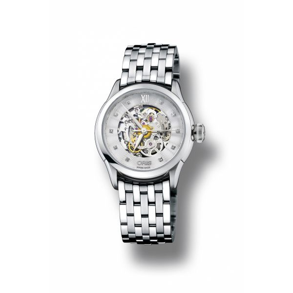 Oris Artelier Skelton Diamonds Grogan Jewelers Florence, AL
