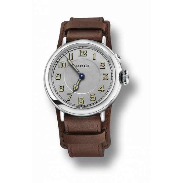 Oris Big Crown 1917 Limited Edition, Leather strap and silver dial Image 2 Grogan Jewelers Florence, AL
