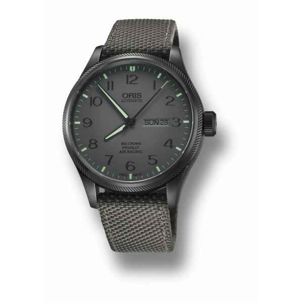 Oris Air Racing Edition IV, Textile strap and grey dial Grogan Jewelers Florence, AL