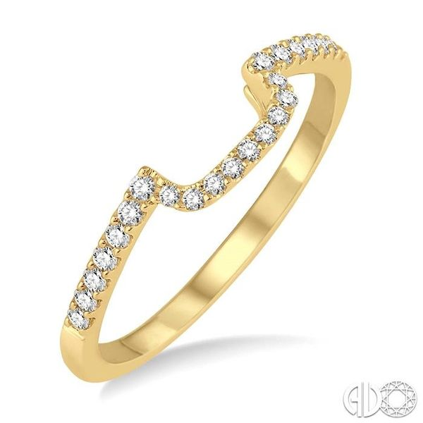 1/5 Ctw Round Cut Diamond Wedding Band in 14K Yellow Gold Grogan Jewelers Florence, AL