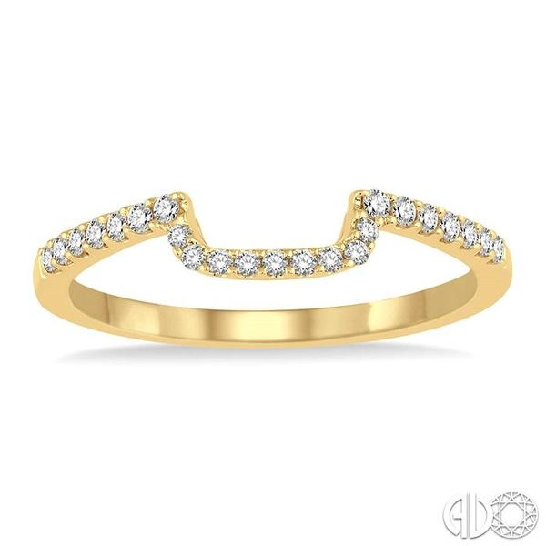 1/5 Ctw Round Cut Diamond Wedding Band in 14K Yellow Gold Image 2 Grogan Jewelers Florence, AL